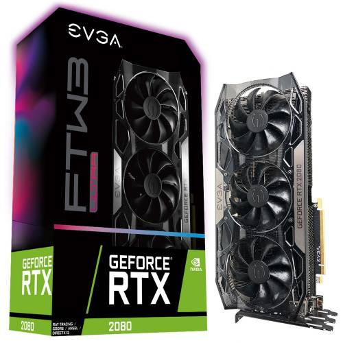 Topachat : 723€ la EVGA GeForce RTX 2080 FTW3 ULTRA GAMING 8 Go