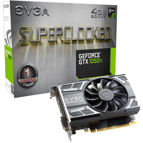 BLACK FRIDAY : 139€ pour la carte graphique EVGA GeForce GTX 1050 Ti SC GAMING, 4 Go