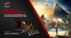 Assasin's creed : origins offert avec Asus Rog