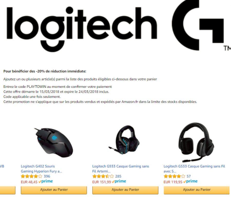 Amazon : -20% de réduction immédiate sur une sélection