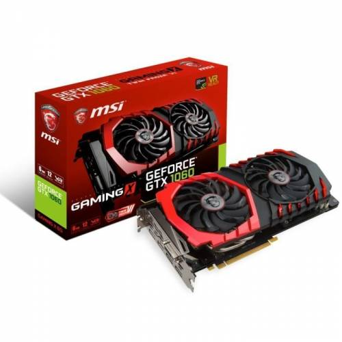 SOLDE : 285€ la Carte graphique MSI GTX 1060 GAMING X 6G 6zGDDR5