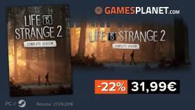 Bon plan : Life is Strange 2 version complète à -22% : 31,99€