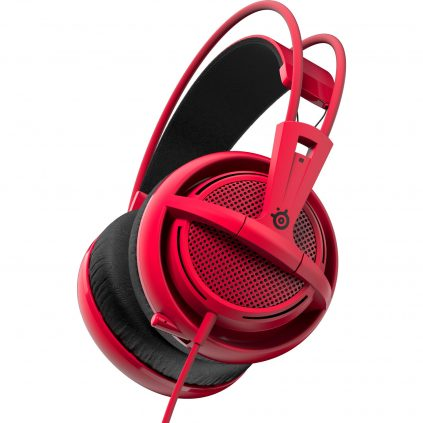 Blackfriday : 39,90€ le casque SteelSeries Siberia 200 Rouge + Jeux Overwatch