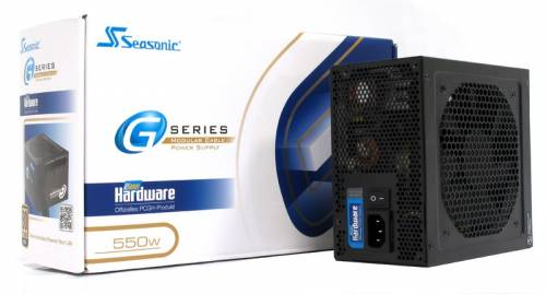Bon plan Materiel.net : 59,90€ , l'alimentation Seasonic G-550 PCGH Edition