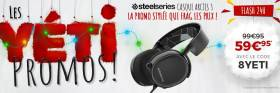 Casque Steelseries Arctis 3 à 59.95€