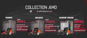 Collection INFOMAX AMD - Bon plan sur les PC Gamer RYZEN