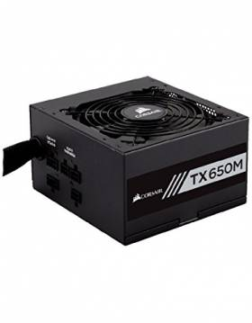 Bon plan Amazon : 72,99€ l'alimentation PC Corsair TX650M