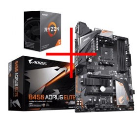 319€ le kit Evolution KIT EVO GIGABYTE AMD FIRST (Ryzen 5 3600 + Gigabyte B450 Aorus Elite)