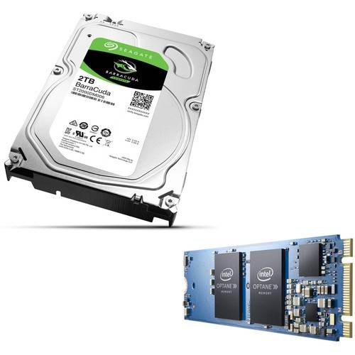 Seagate Barracuda 2To + Intel Optane 16Go à 69.90€