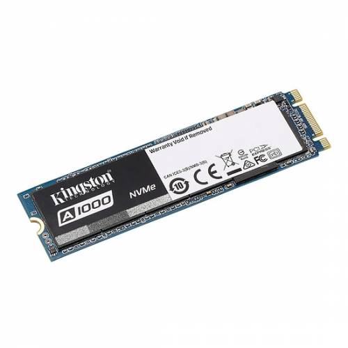 Bon plan : SSD Kingston A1000 M.2 PCIe NVMe - 480 Go - 84,90€ au lieu de 139,96€