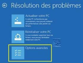 Le mode sans echec de Windows 8.1