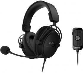 Amazon : Casque gaming HyperX Cloud Alpha S à 104,99€ (PC / PS4)