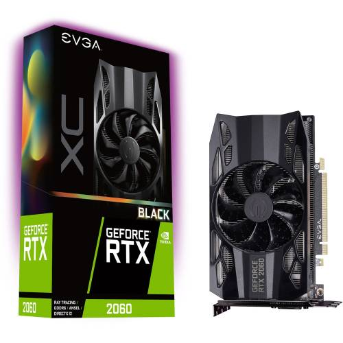SOLDE : carte graphique Evga GeForce RTX 2060 XC Black Gaming à 296,91 €