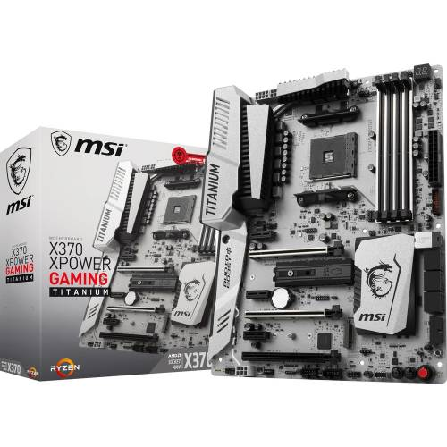 Bon plan : 153€ la MSI X370 XPOWER GAMING TITANIUM