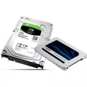 Bon plan stockage : 179€ le pack SSD MX500 500Go + HDD Seagate BarraCuda 2 To