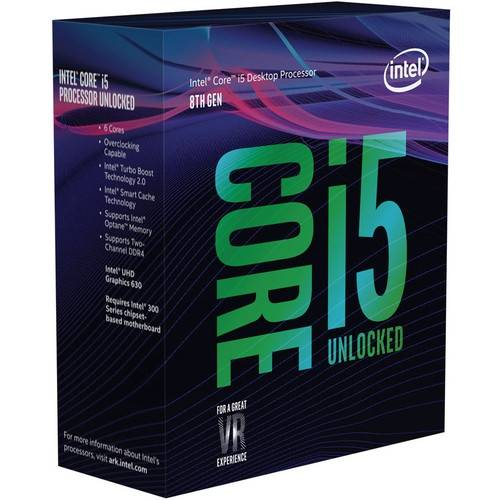 224€ le processeur Intel Core: I5-8600k chez Amazon